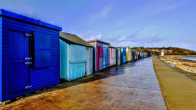 Beach Huts, Duver, Isle of Wight