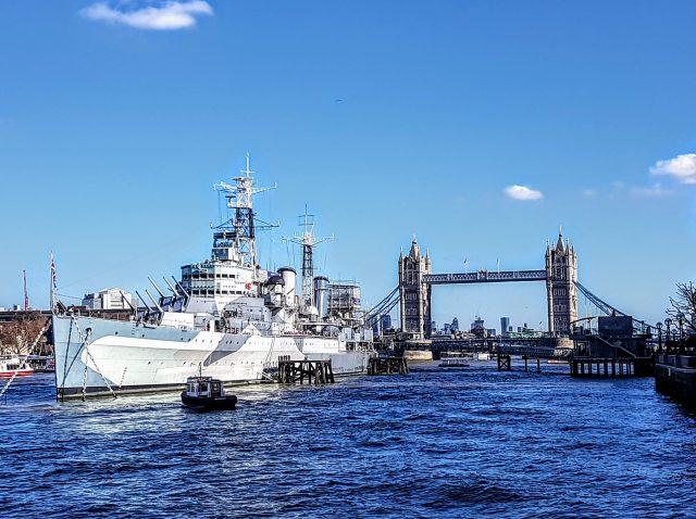HMS Belfast, Thames